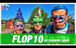 FLOP 10 - Les Pires Youtubers Running
